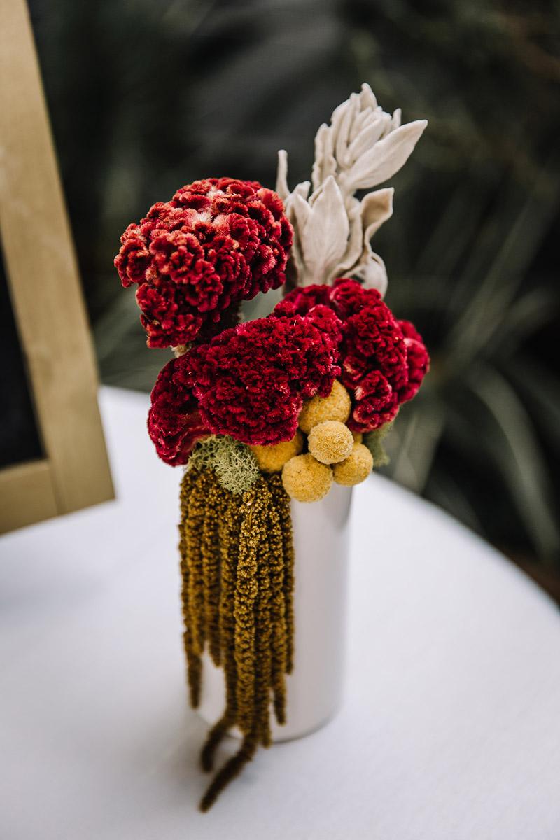 A bud vase arrangement from Petal Bar
