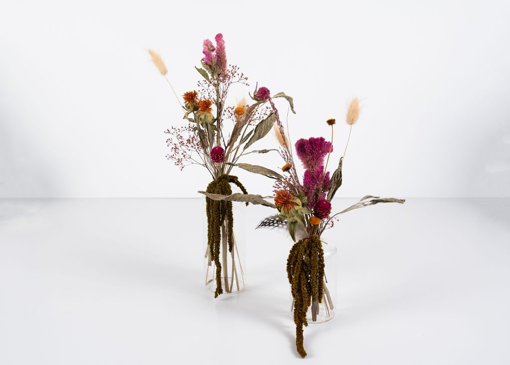 Dried Floral Budvases