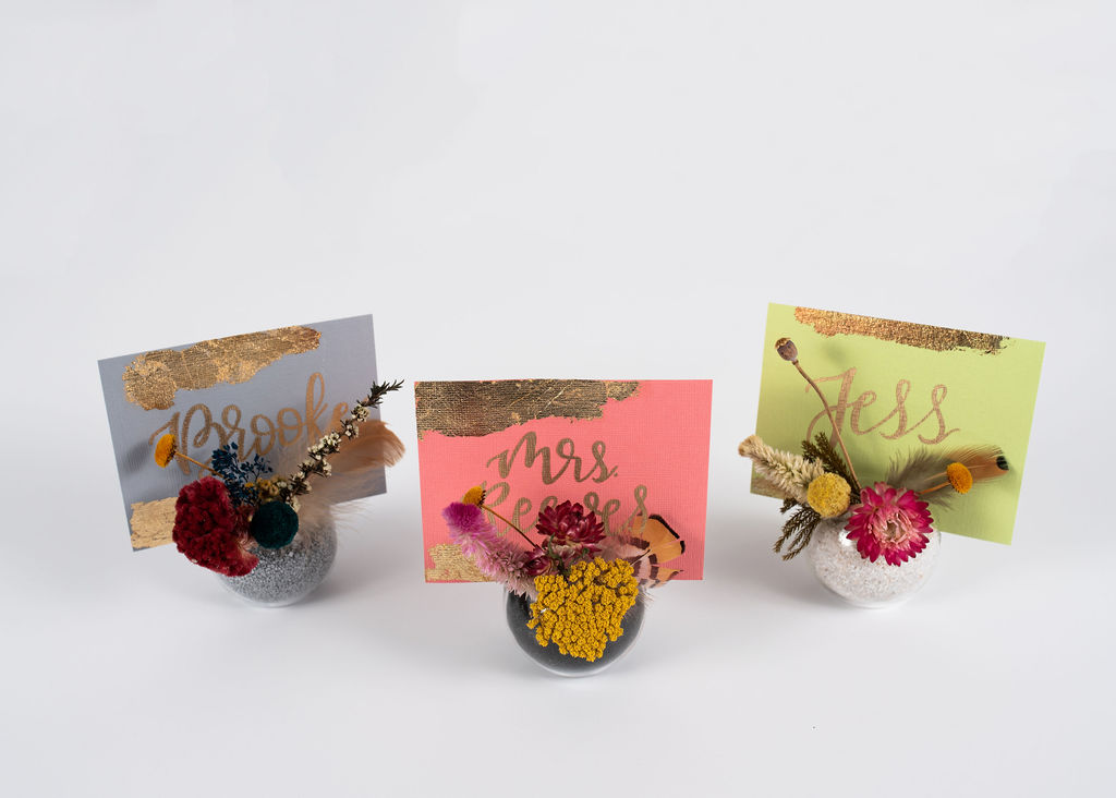 Dried Floral Globes