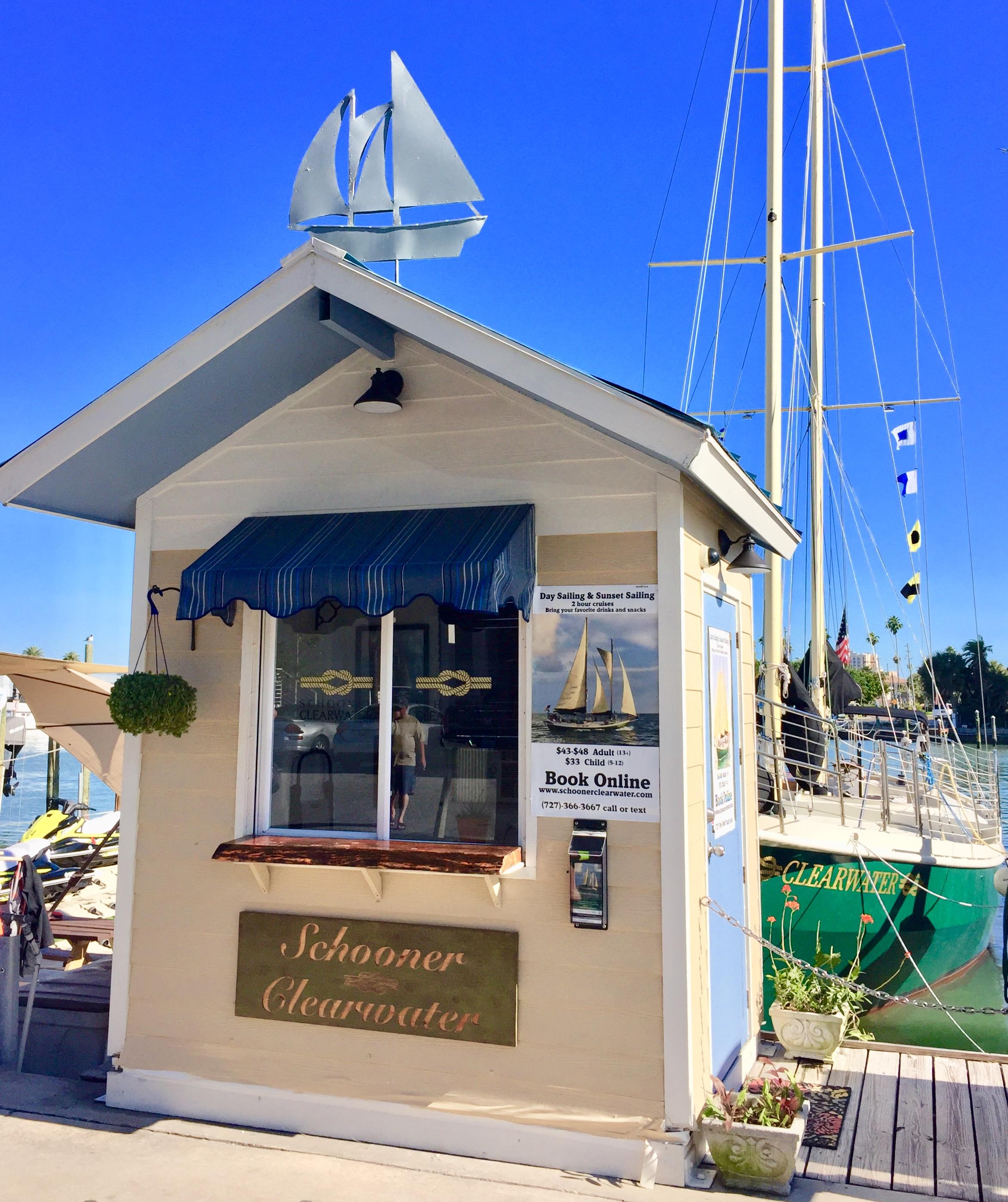 Schooner Clearwater Ticket Booth Checkin Boatslip #20