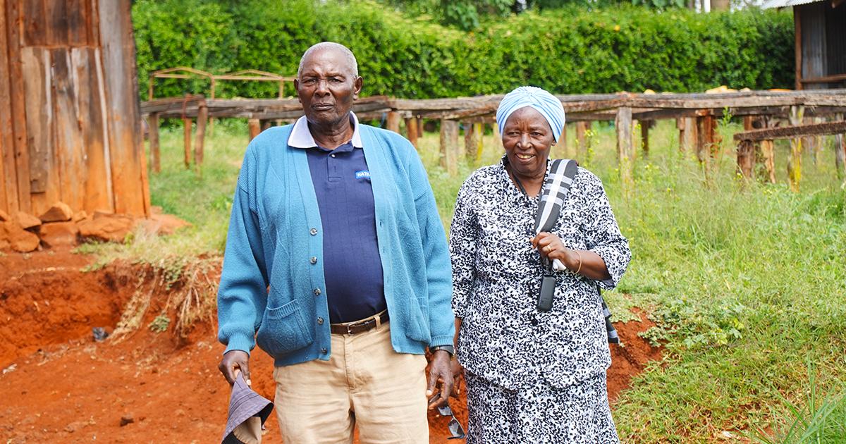 Alice Kiguta and James Mugumo
