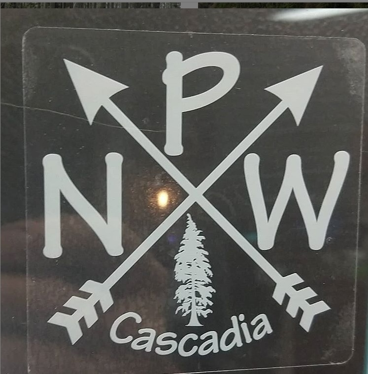 PNW Cascadia - Cascadian Tribal Pride Decal