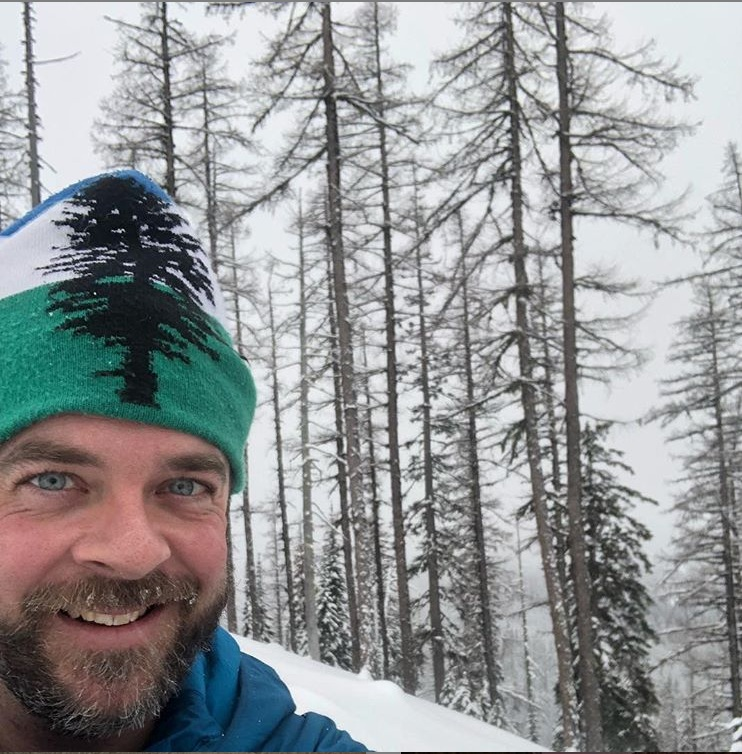 Cascadia Hat Spotted in Snowy Wonderland