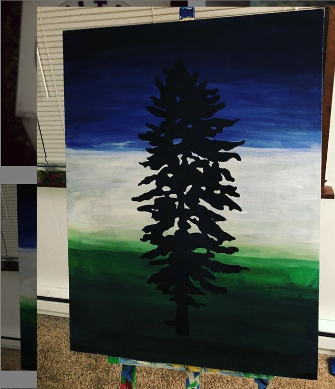 Cascadia Doug Flag Art Piece