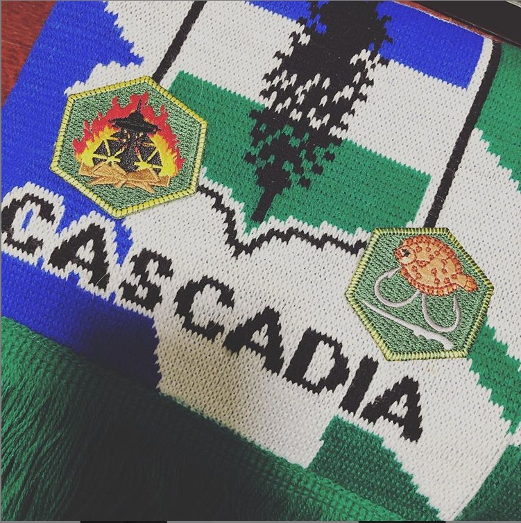 Republic of Cascadia Scarf
