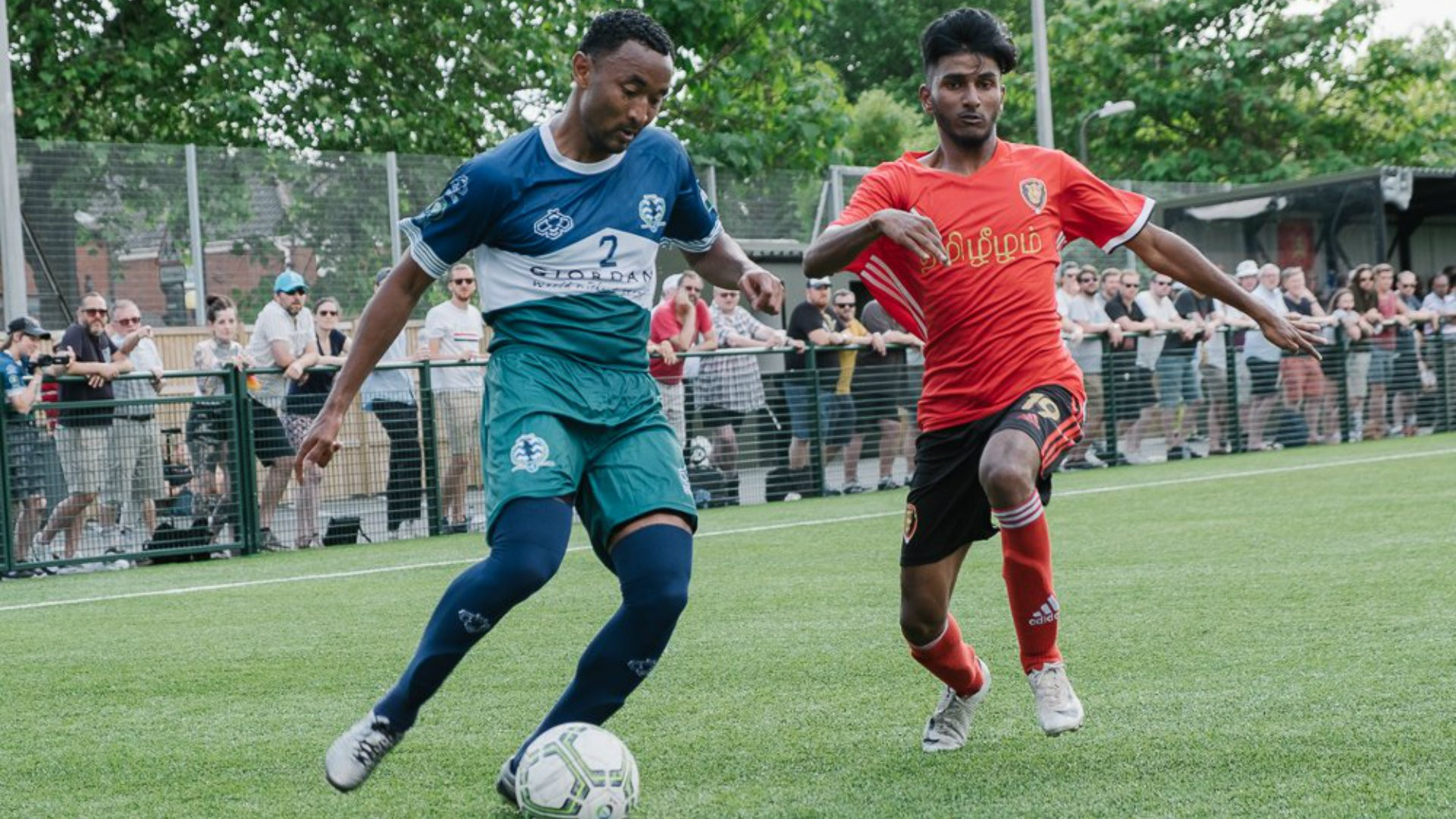 Team Captain James Riley leads Cascadia to victory against Tamil Eelam in the 2018 ConIFA World Cup.