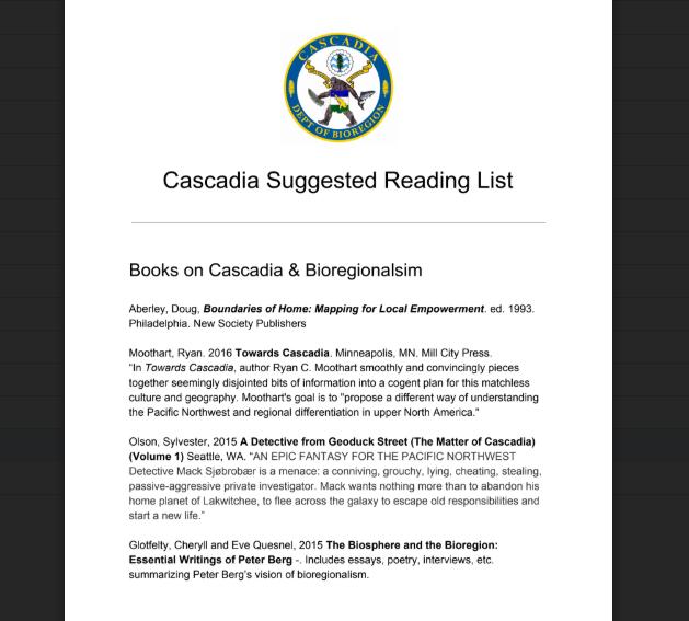 Cascadia & Bioregionalism Suggested Reading List.pdf