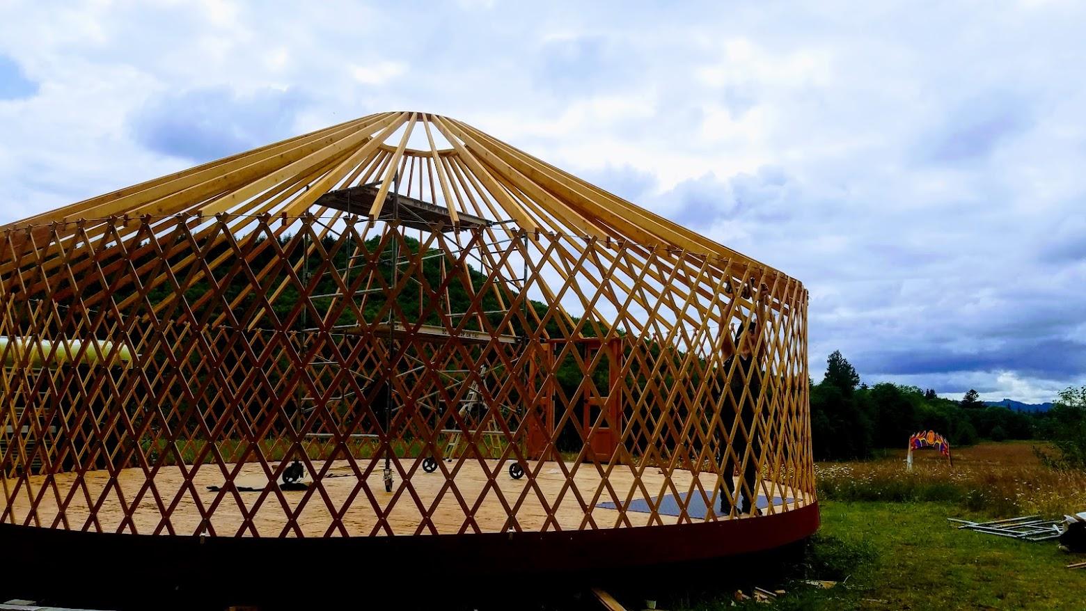 Yurt going up.jpg