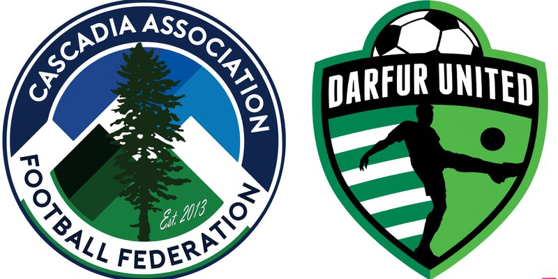 Cascadia vs. Darfur United The first ever CONIFA friendly in North America