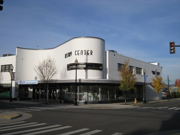 Today the SOHS occupies a corner of the former J.C. Penney Building in the Medford Downtown Historic District.