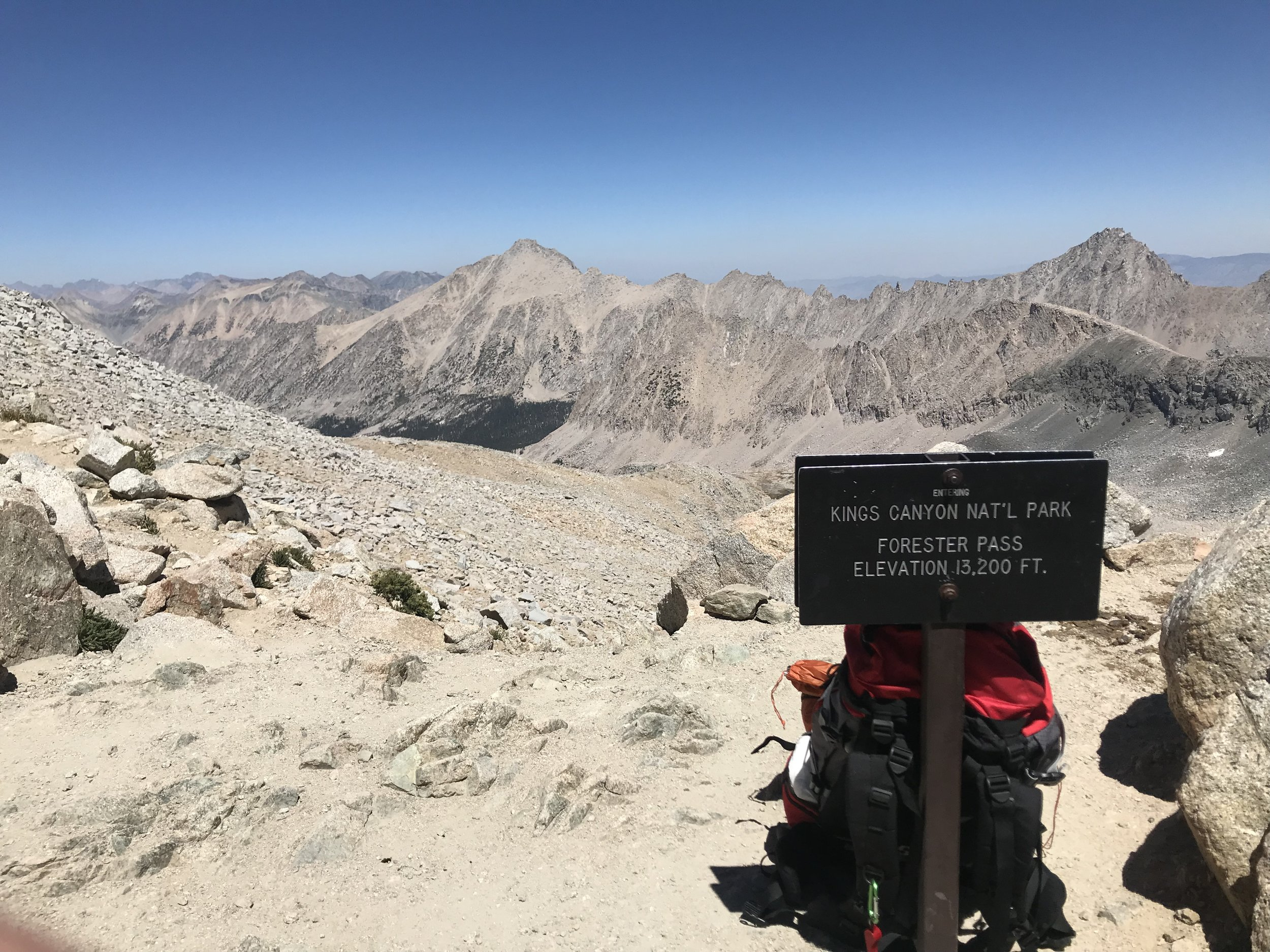 Transitioning from Sequoia to Kings Canyon National Parks.