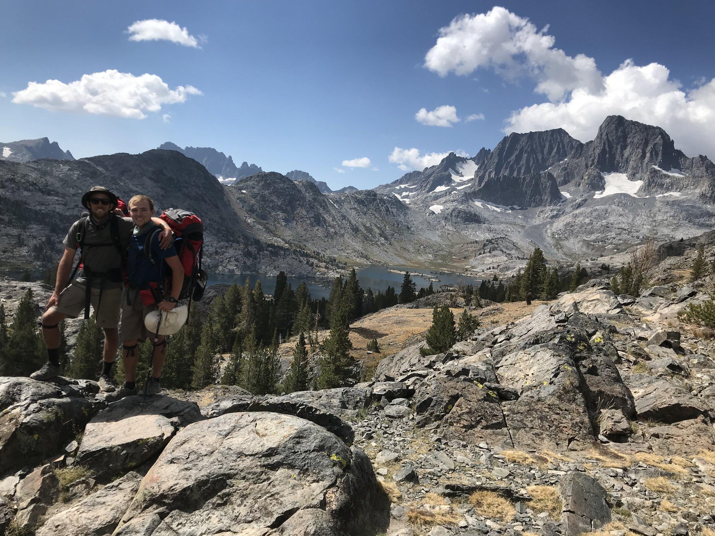 Just a coupla mountain boys.