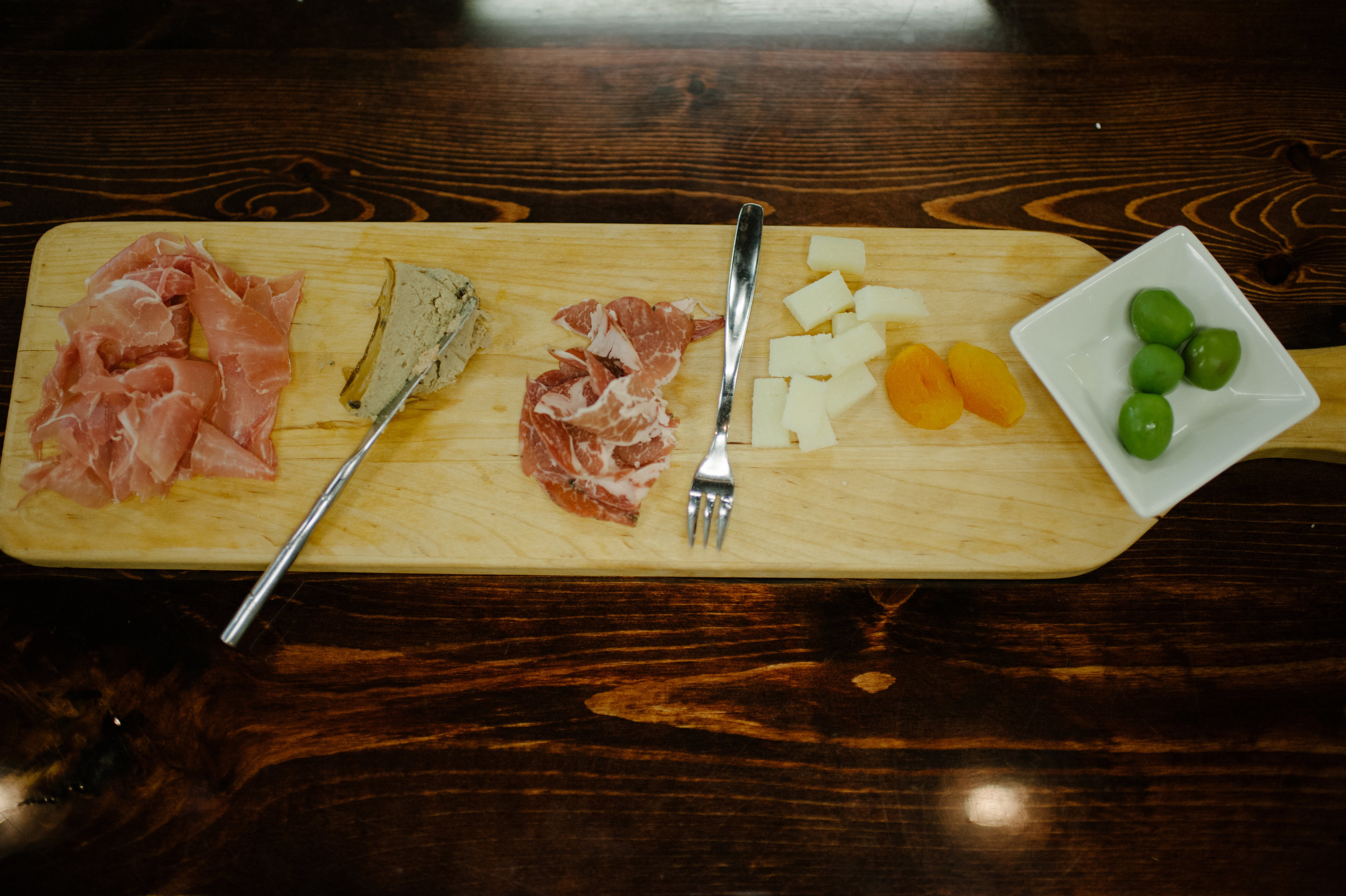 Our Charcuterie Board.   Photo by Essence Photography