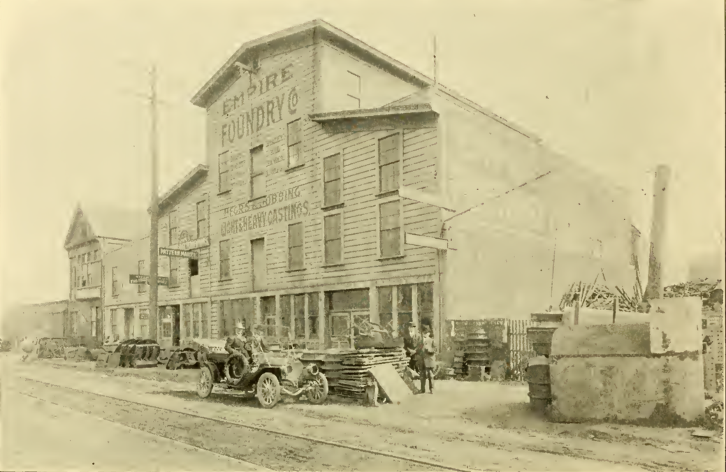 Empire Foundry Co., 3rd & Broadway, 1909