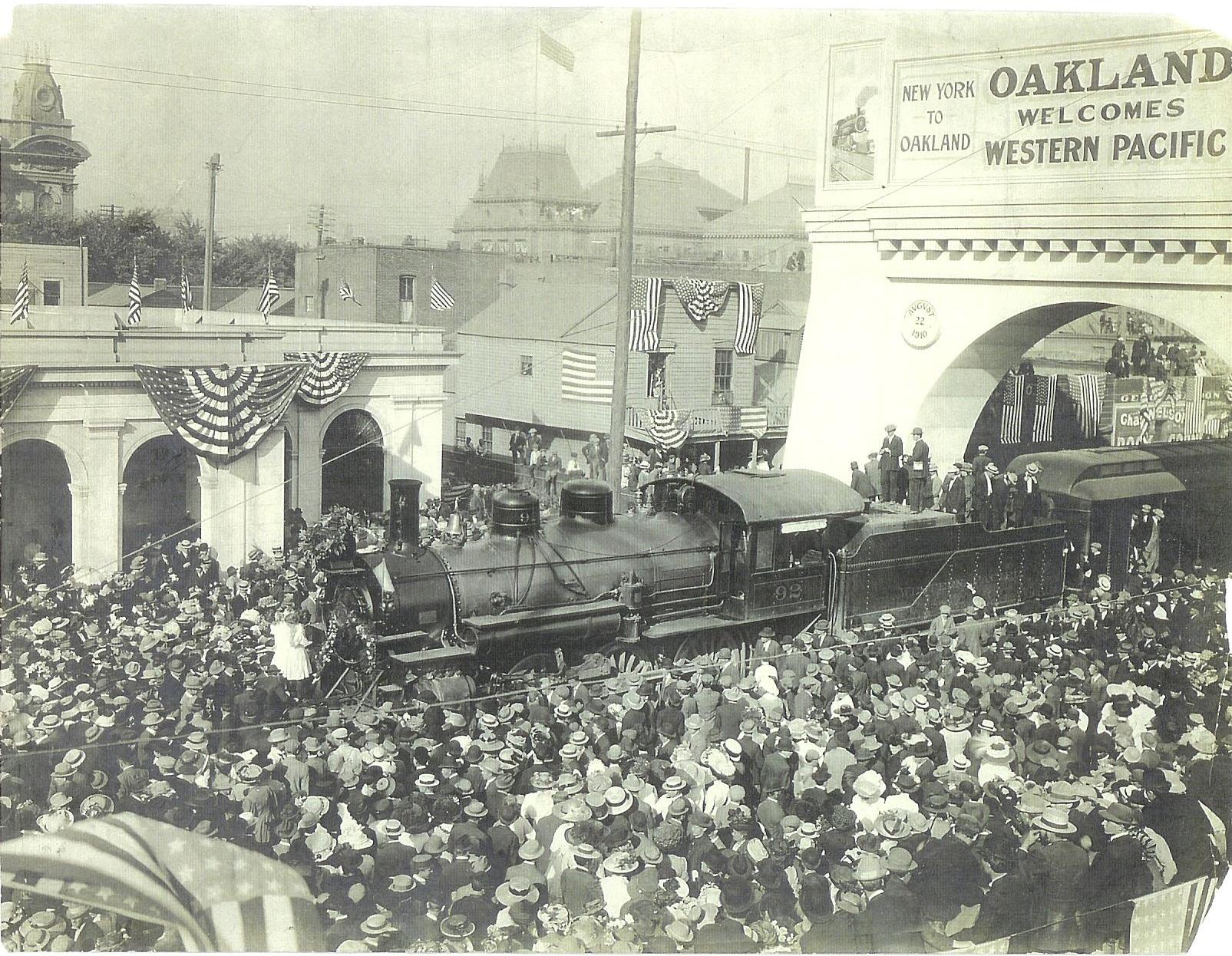 Western Pacific Depot Celebration, 1910
