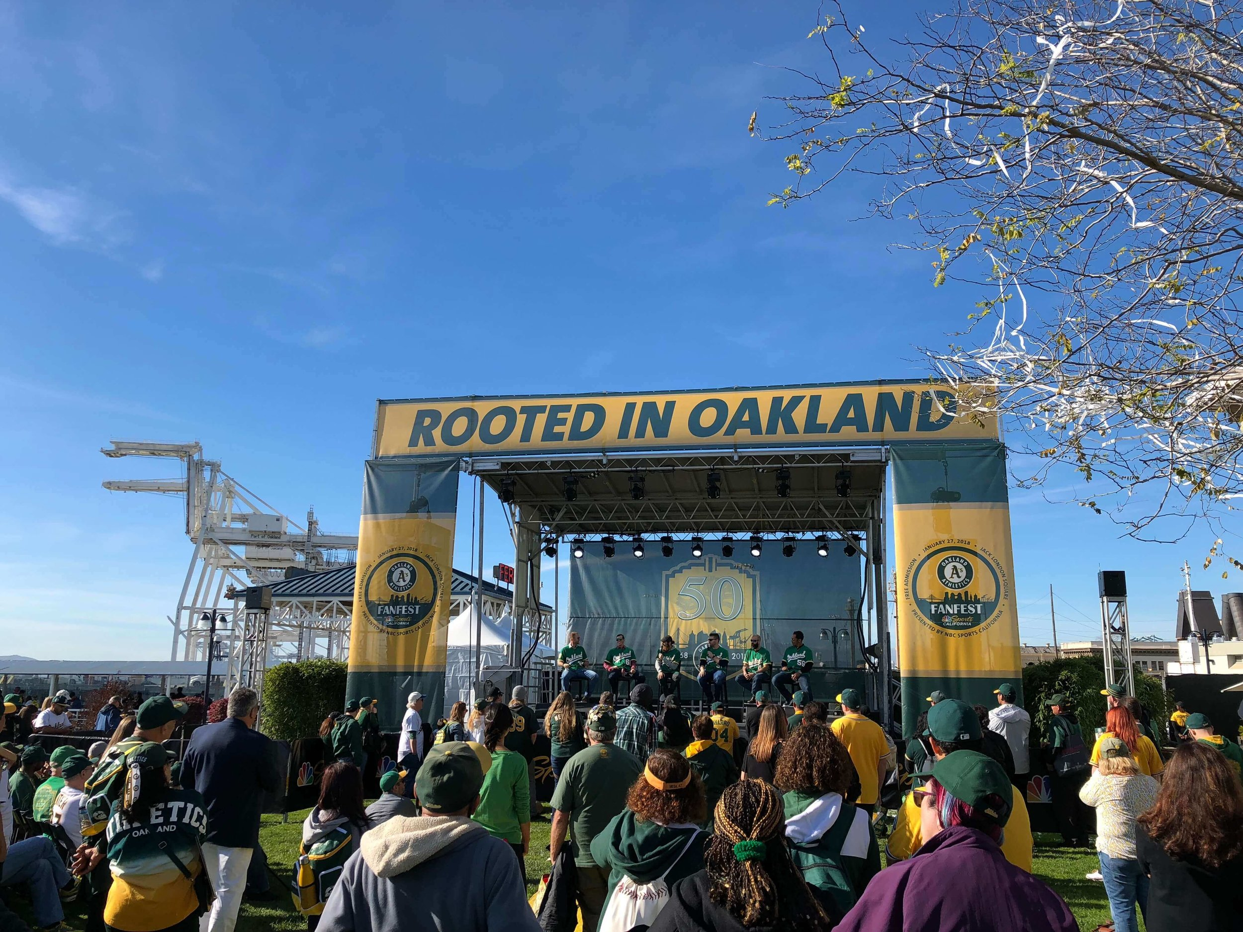 A's Fanfest 2018 | Jack London District