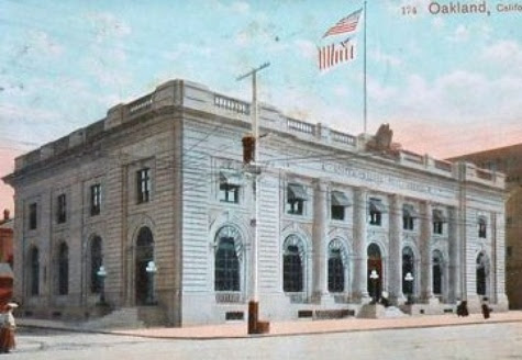Oakland's First Post Office, 1851