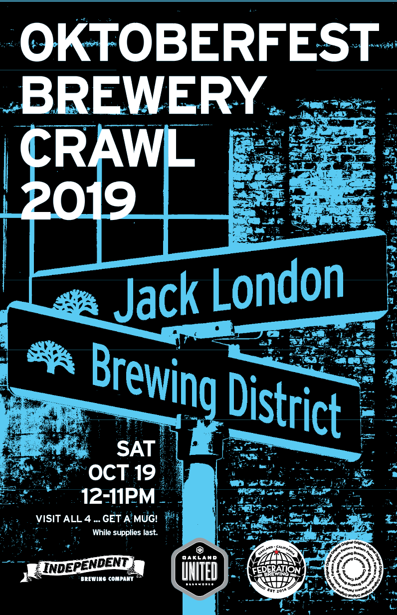 Jack London Brewing District handbill