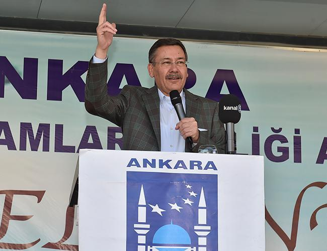 Melih Gokcek (pictured) was forced to resign by President Erdogan in October after 23 years as mayor of Turkey's capital city.(Photo courtesy of  Hurriyet Daily News ).