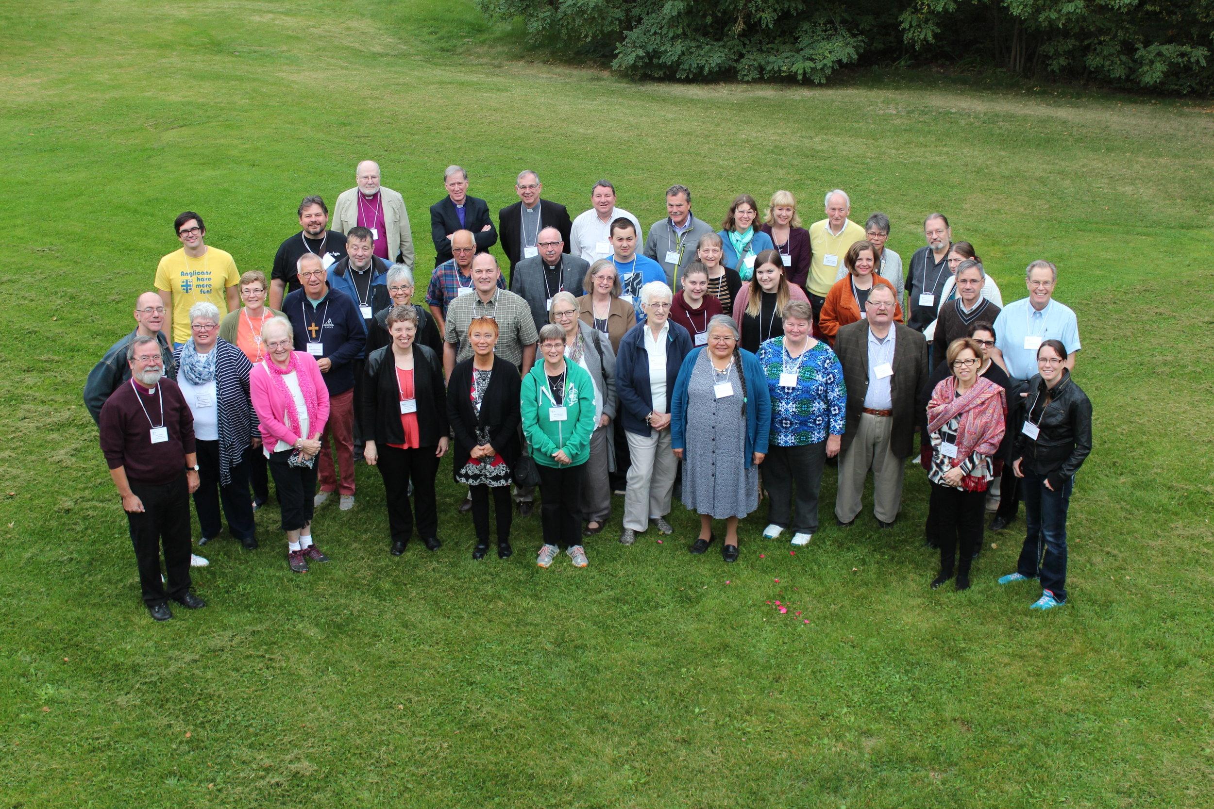 delegates at provincial synod 2015 at sorrento centre