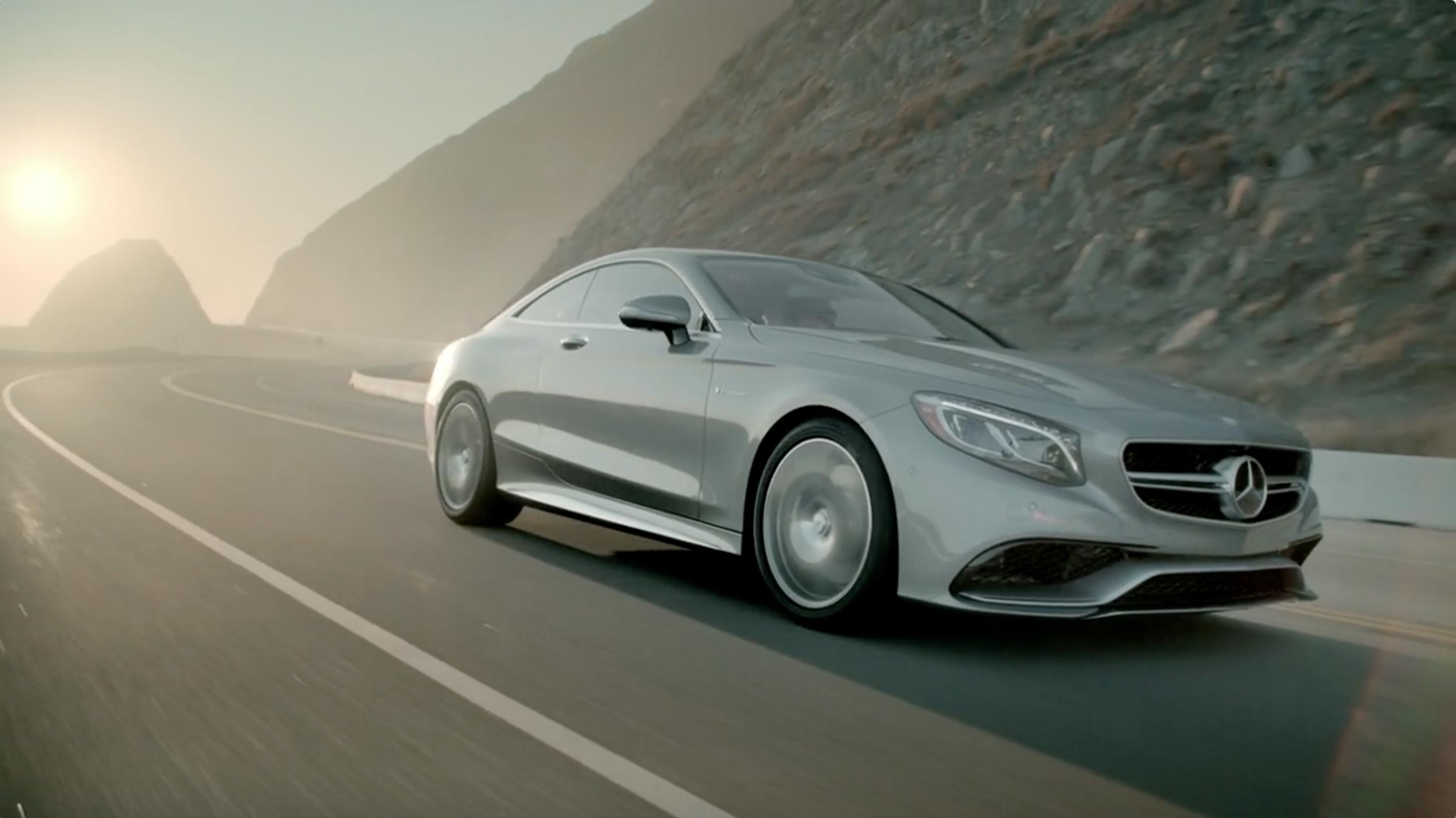 Keegan Wilcox: Mercedes-Benz S-Coupe