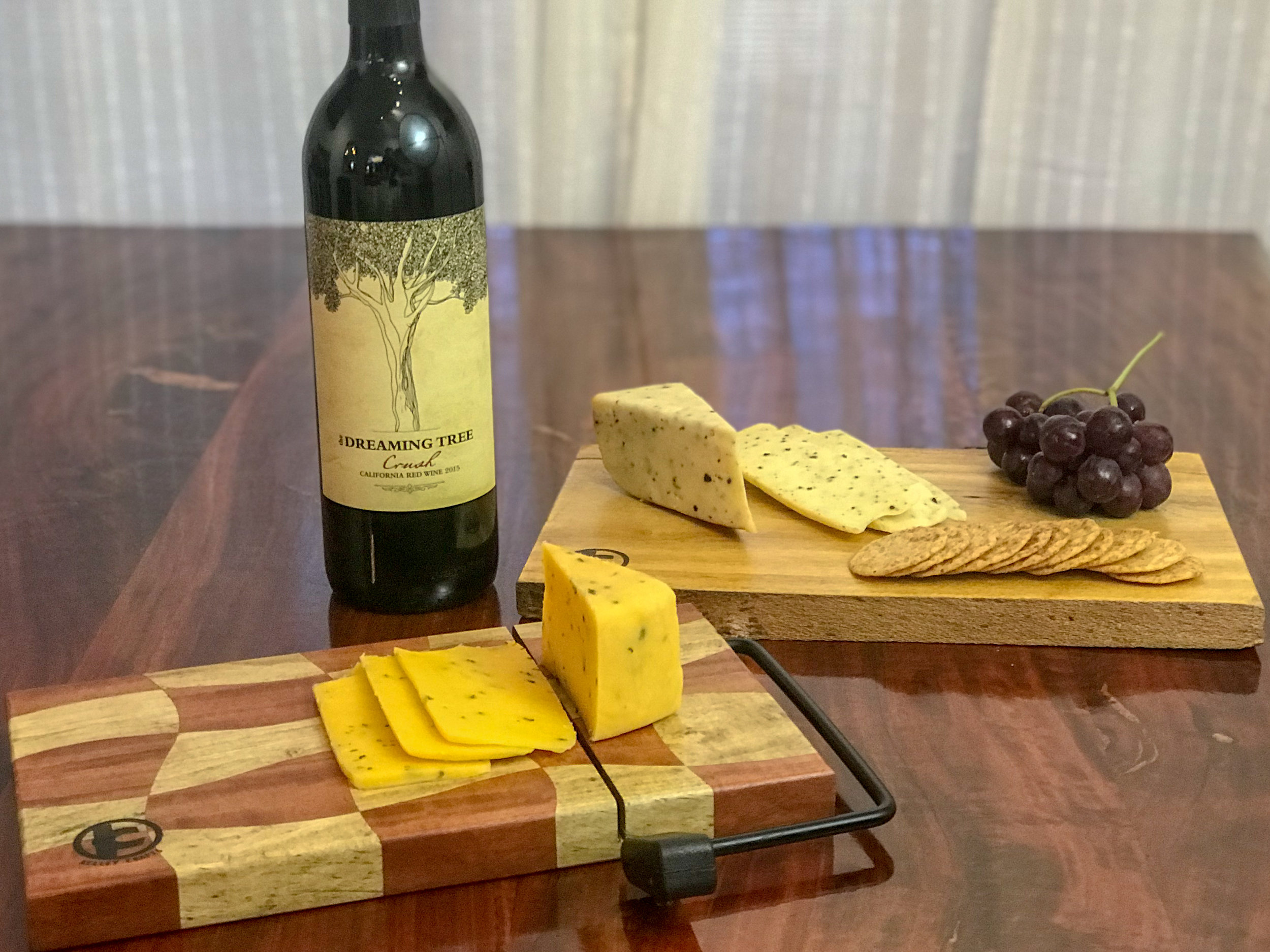 Add some slice to your life - Kelley Crafts cheese boards always grab the conversation