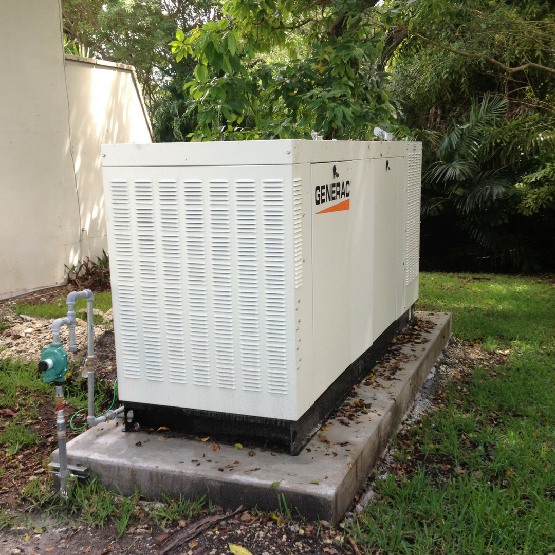 South Miami - Residential - 45KW Generator with support of 1,000 underground propane tank
