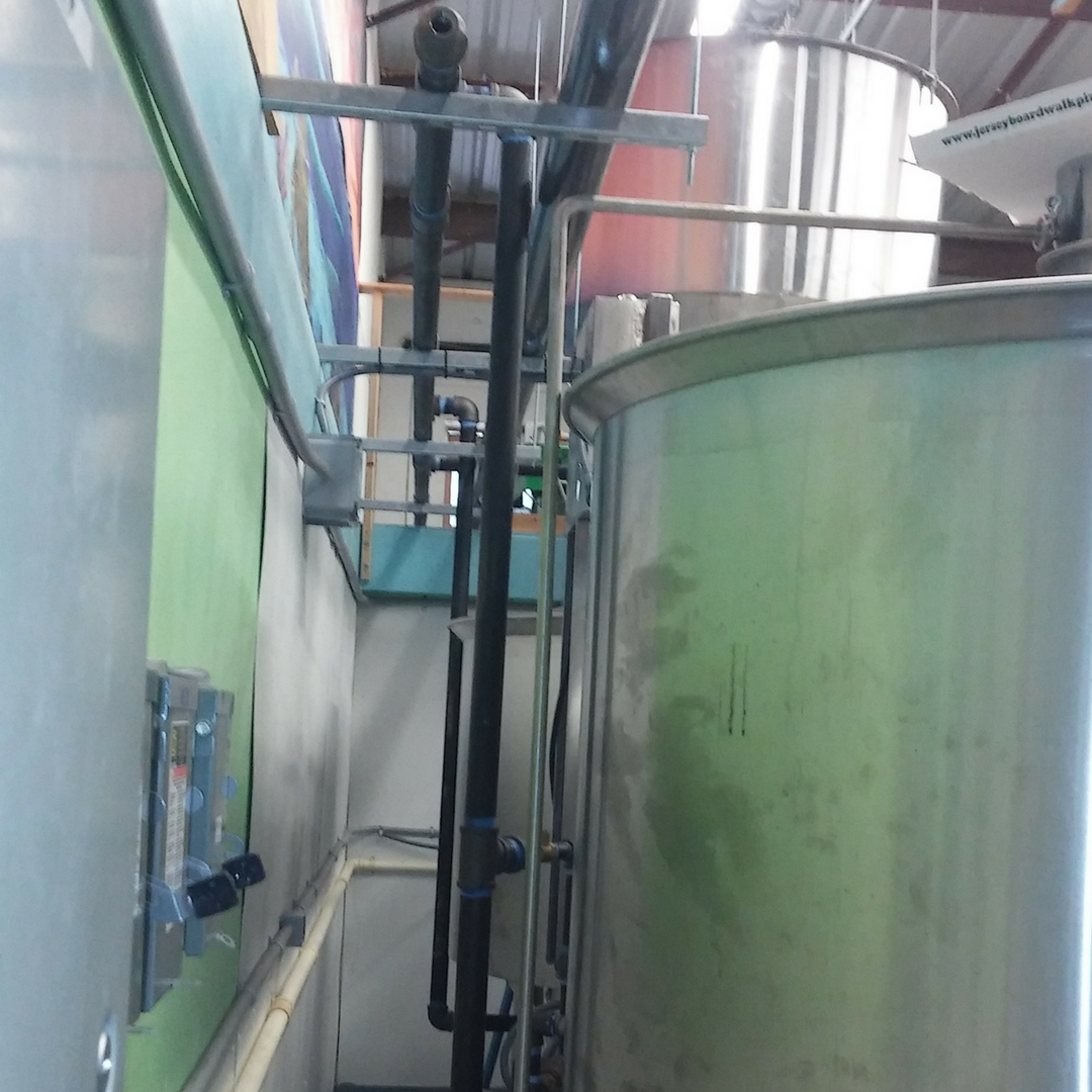 Islamorada - Commercial - Installation of High Pressure Boiler and Brewing Equipment at FL Keys Brewery including all 4 inch steam lines