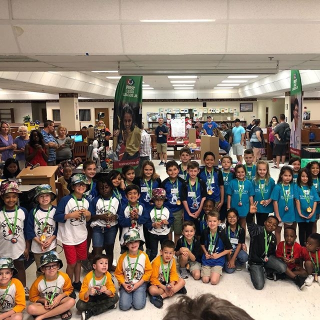 South Florida FIRST LEGO League Jr. Expo #2 for the year! @greenmouseacademy