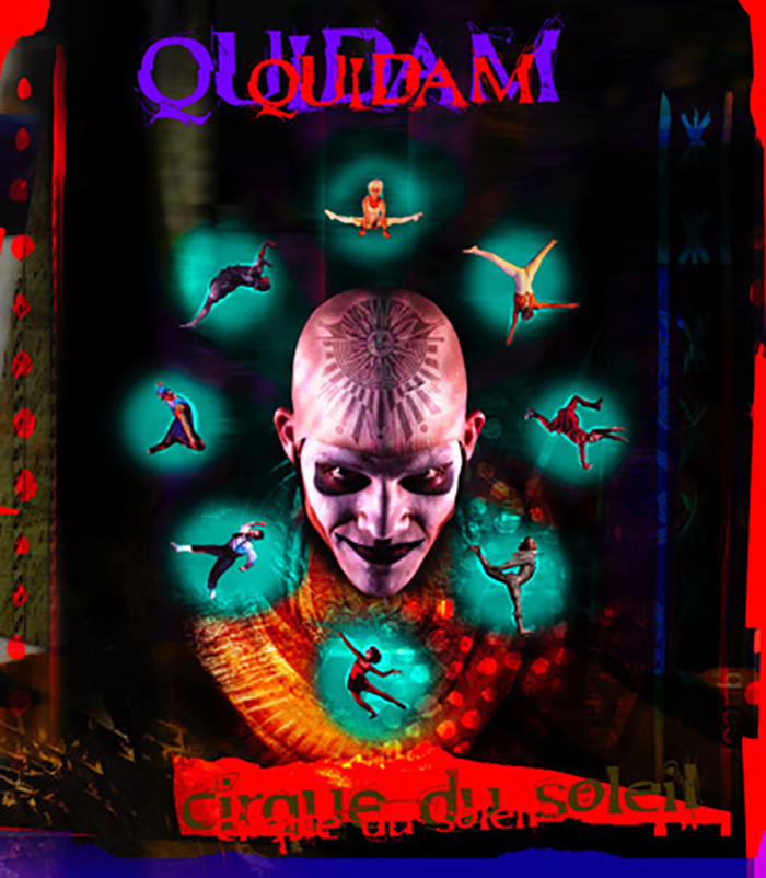 Ad for Cirque du Soleil