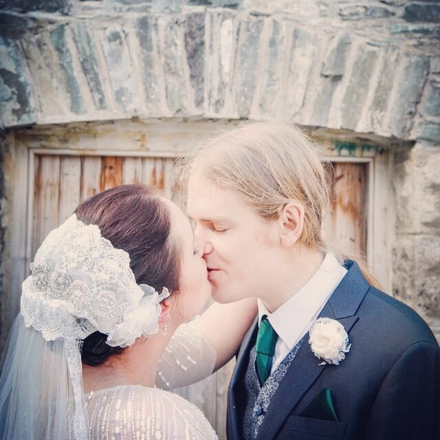 Elaine and Matthew #kiss #wedding #countydown