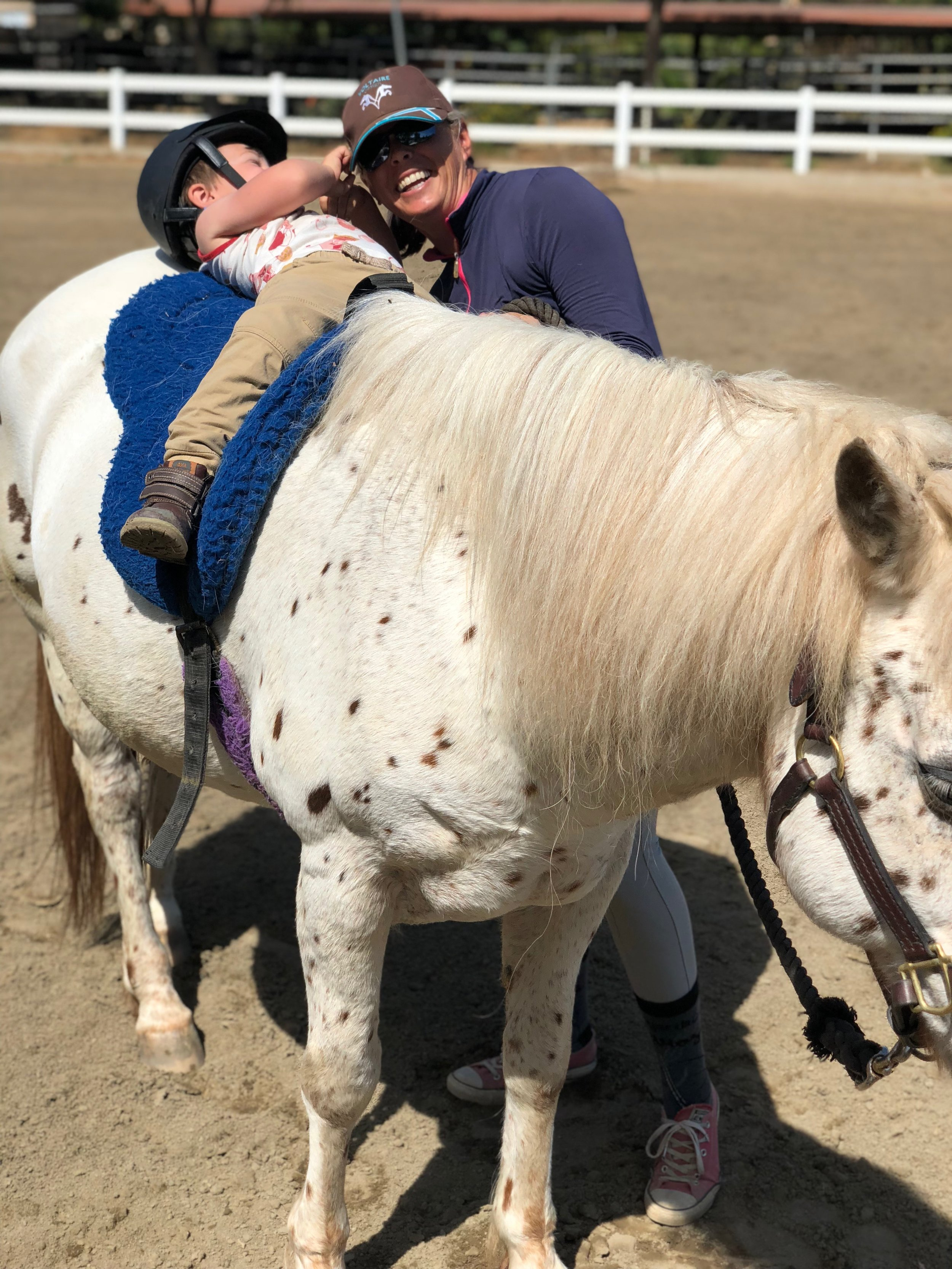 Congratulations to the Yount Family! - We are so happy that Charm has a wonderful family to start their new adventure in a new state. Love that this beautiful pony will have 2 perfect little boys to love her!