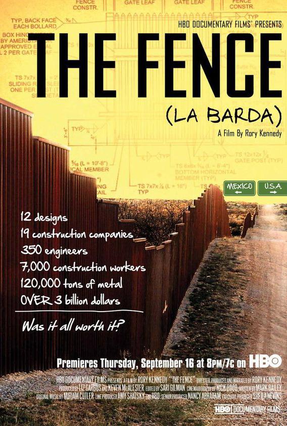 THE FENCE (LA BARDA)  (2010)  Editor  Sundance Film Festival  HBO