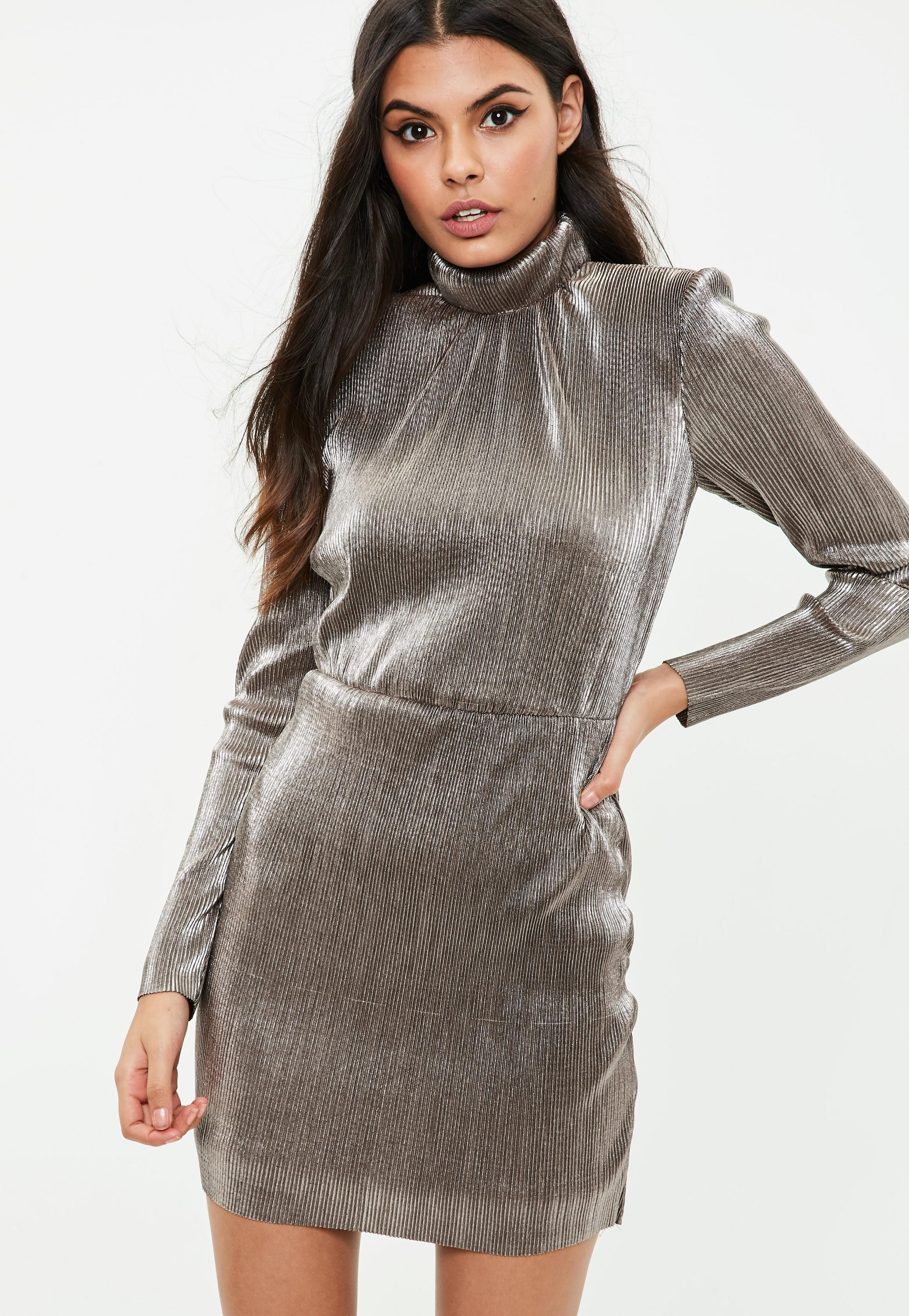 metallic-high-neck-pleated-dress.jpg