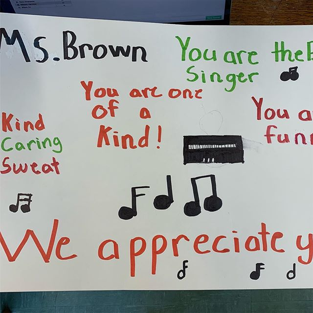 Awww...ain't that sweat! #teacherappreciationweek