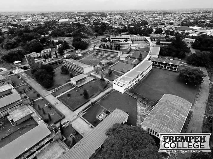 Prempeh College Aerial View