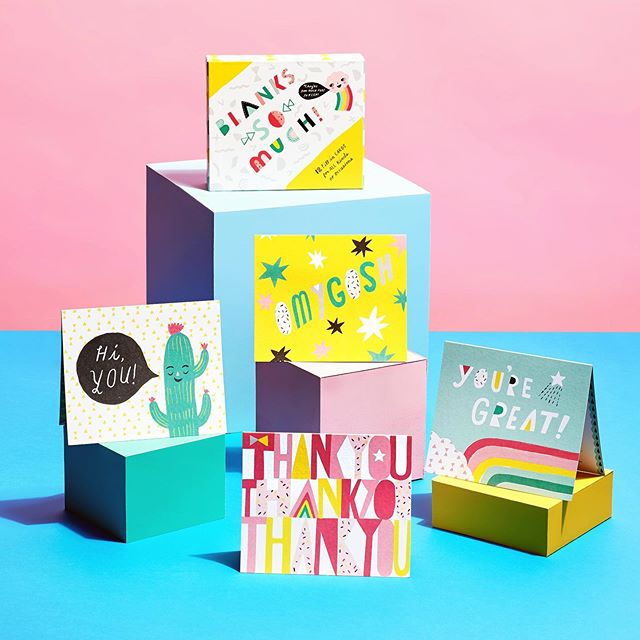 More pretties from Sarah's portfolio shoot. @sarahwalshmakesthings 'Blanks So Much' stationary kit for @compendiumliveinspired.