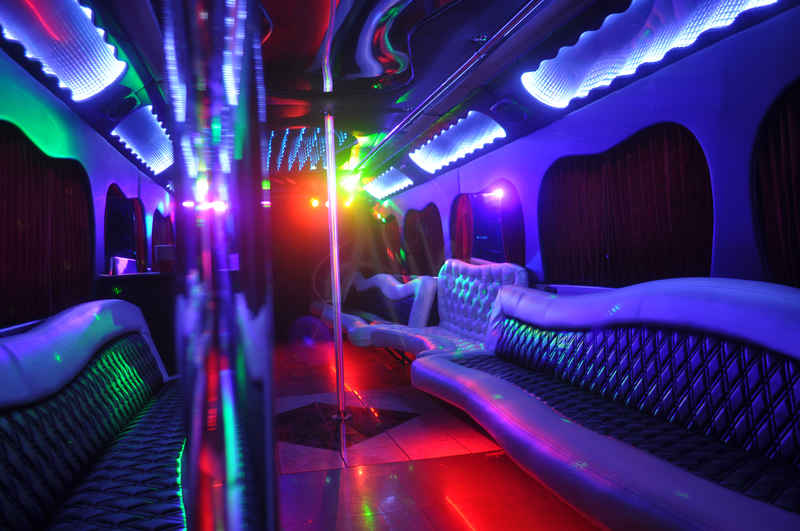 Extra Light Back to Front Party Bus Picture