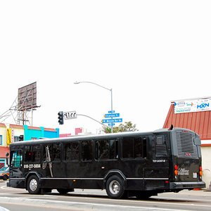 THE PHANTOM - 38 Passenger Party Bus