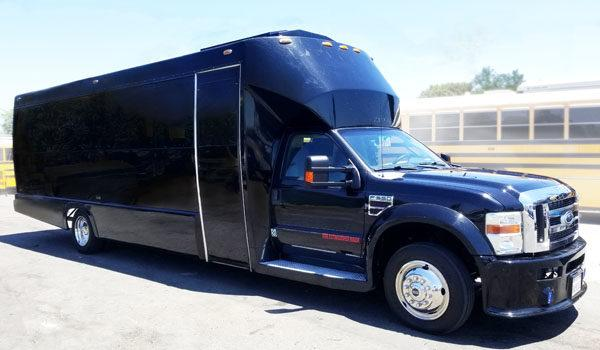 Exterior Party Bus Picture for Birthday Parties in a Party Bus Rental near San Diego and Navajo