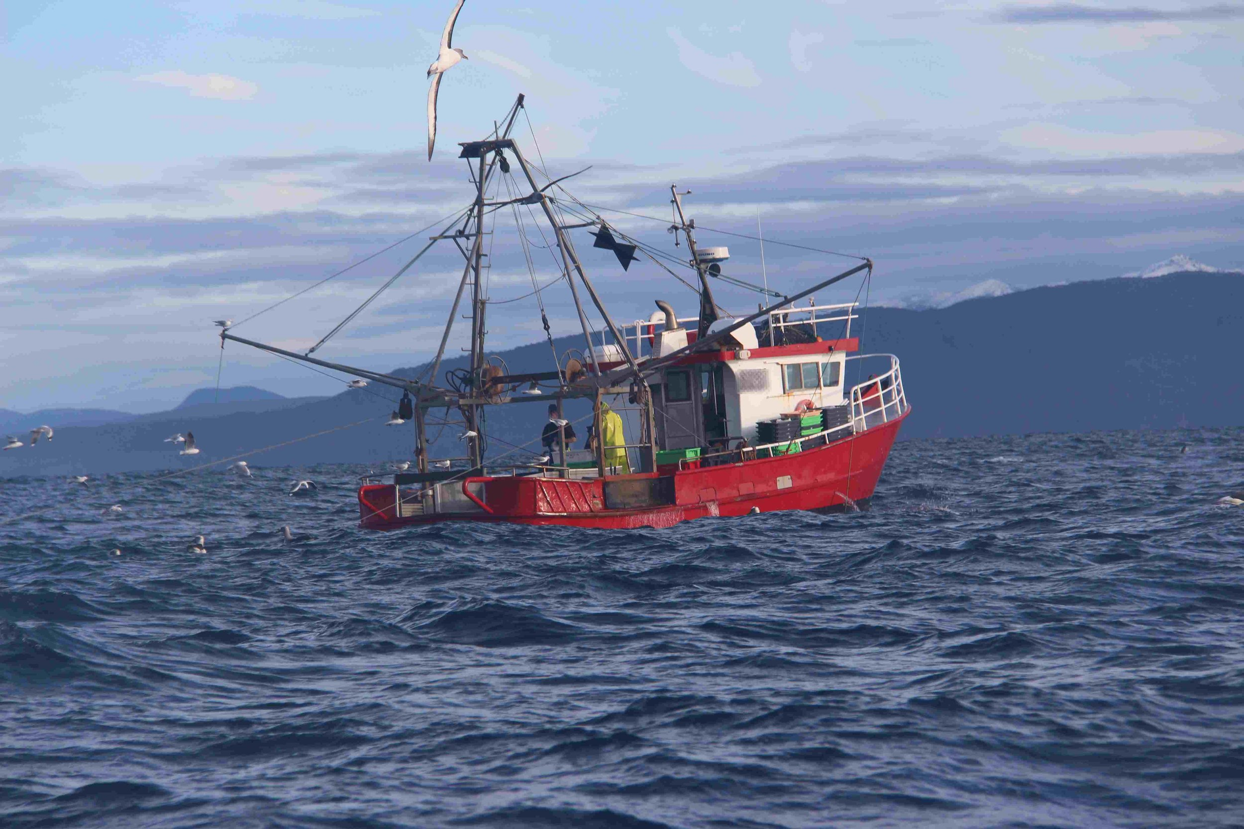 Trawler working 3nm from shore