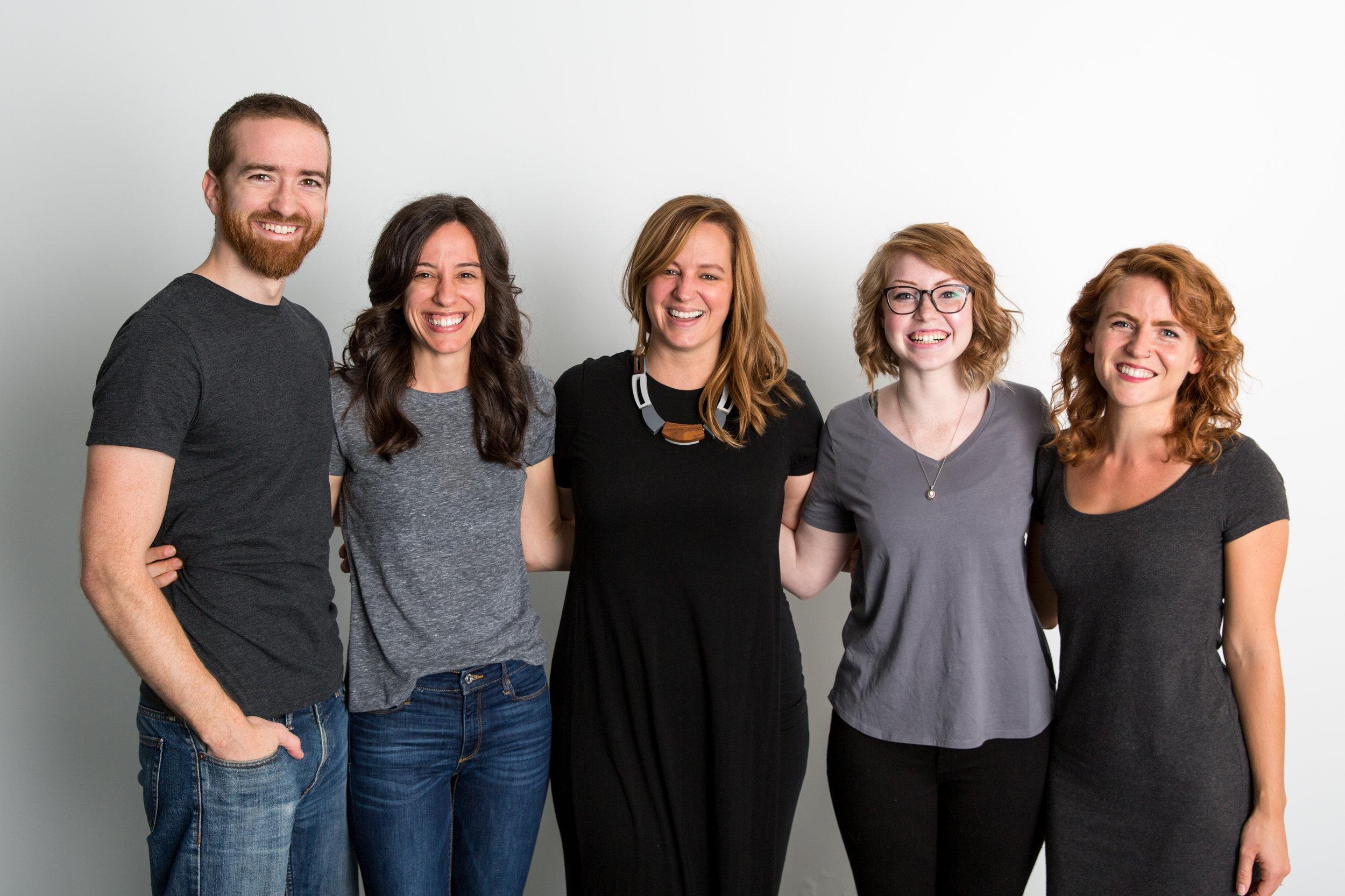 Burt Co. Team: Ethan and Bethany, Kaylene, Shelby and Me