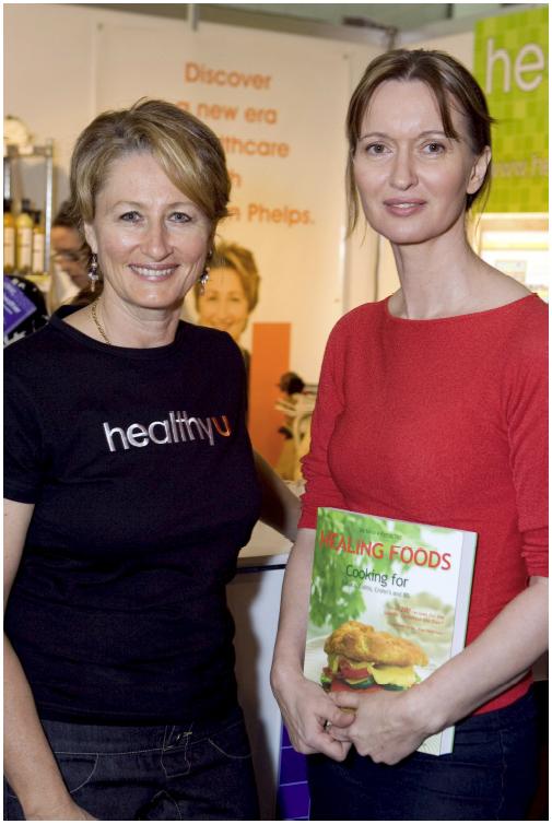 Professor Kerryn Phelps, Australian Medical Health expert and myself at the 2007 Healing Foods book launch in Australia.