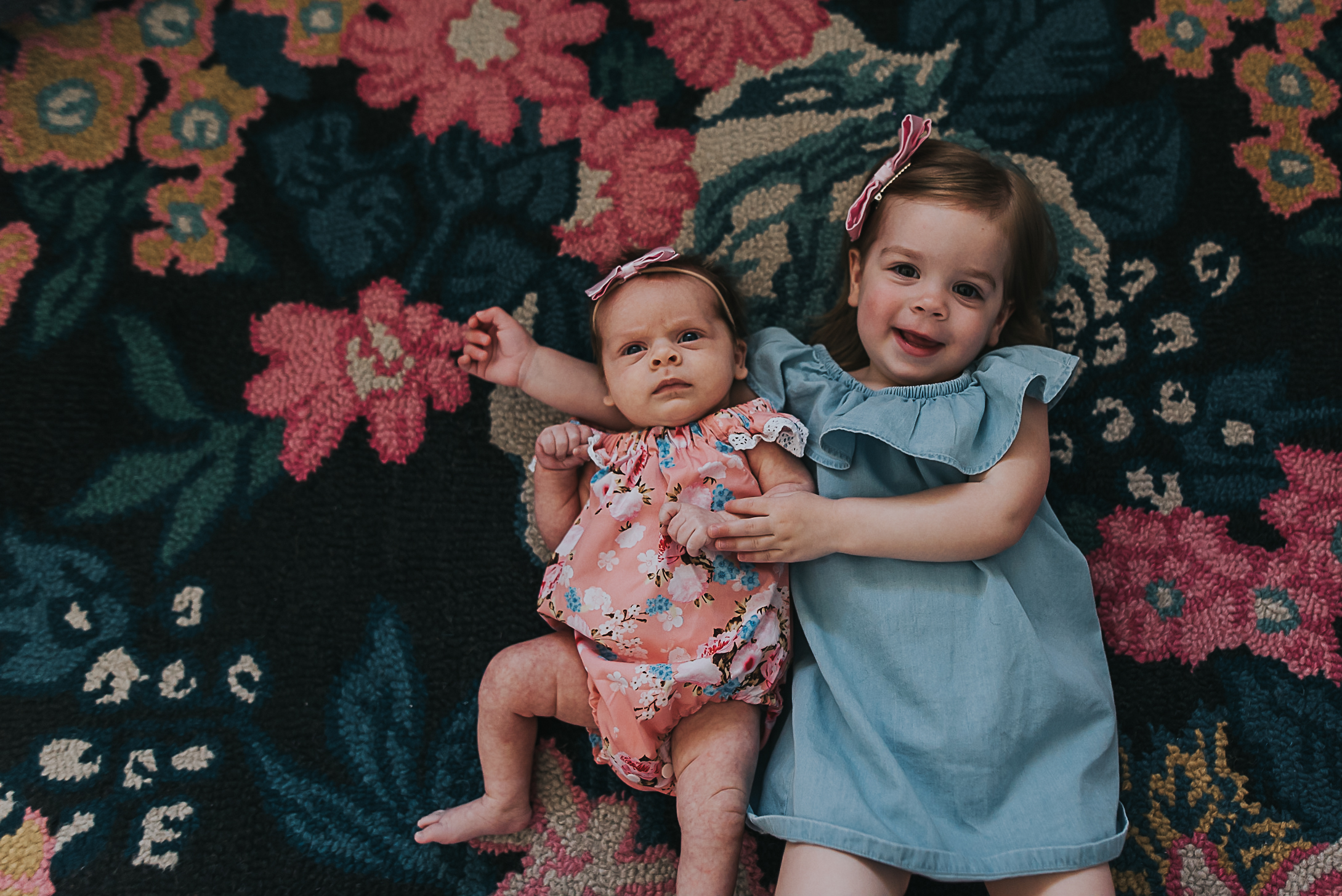 sisters together
