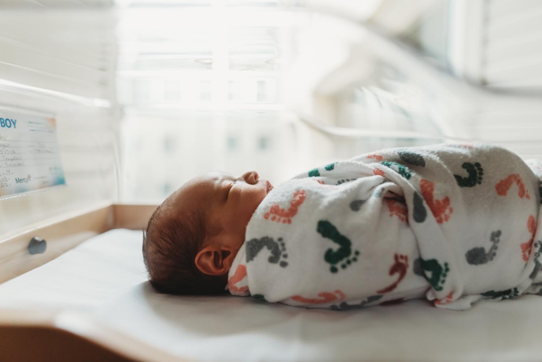 profile of newborn