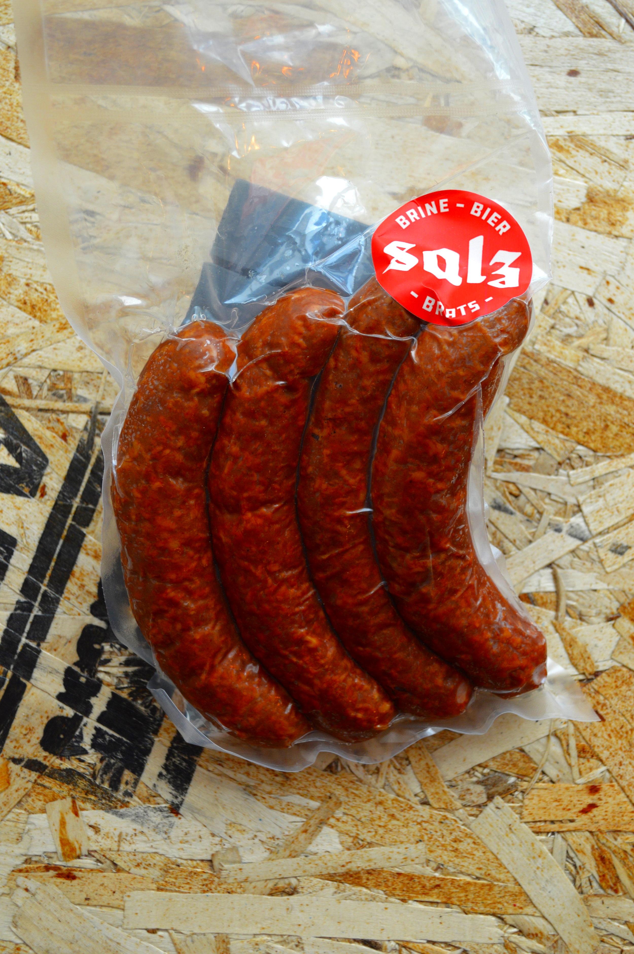 Salz Smoky merchandise pack.