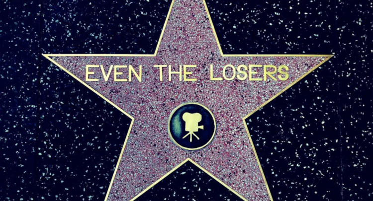 EVEN THE LOSERS  A misfit crew of struggling filmmakers kidnap a famous actor and make their movie illegally by robbing their way through the cliche underbelly of Hollywood while Chaos ensues with backstabbing mayhem when all the ridiculous Hollywood characters show up to take control of the picture.