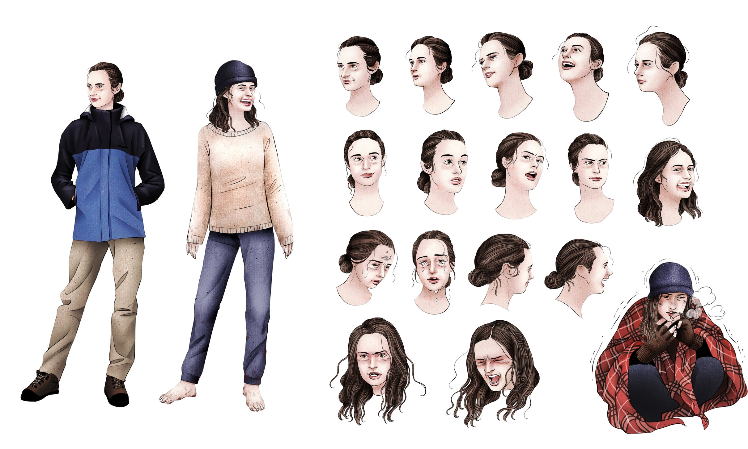 Character studies of Julia Butterfly Hill.