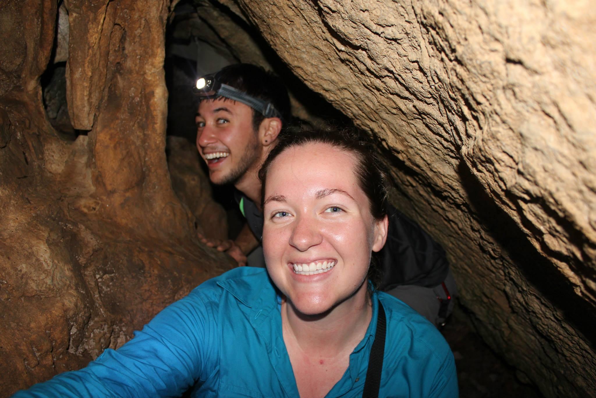 Logan & Alex in Lynx Cave