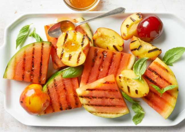 Grilled Fruit - Put a new twist on your fruit platter!